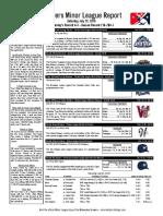 7.23.16 Minor League Report