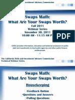 Swaps Presentation