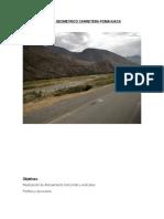 Diseño Geometrico Carretera Pomahuaca
