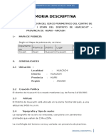 MEMORIA DESCRIP. CENTRO DE SALUD I ETAPA.doc
