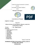 Informe de Lectura No 2 Las Cuatro Fases Del Jesus Historico (1)