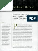 Provisional Materials