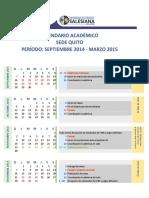 Calendario p45 QUITO