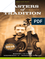 Masters of Tradition 2016 Brochure