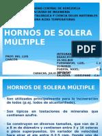 Hornos de Solera Múltiple