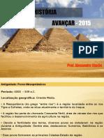 Aula 01 - Povos Mesopotâmicos e Civilização Egípcia