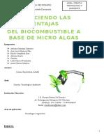 Biodiesel Algas