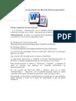 Cómo Recuperar Un Documento de Word de Autorrecuperación