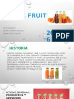 FRESH FRUIT(Comercasdio Electronico)