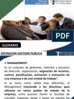 Glosario Gestion Publica