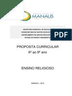 Ensino Religioso 6o Ao 9o ano - SEMED