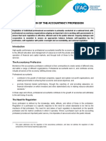 PPP1 Regulation of the Accountancy Profession