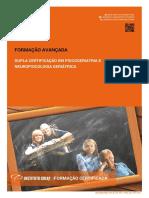 Dupla Certificacao Em Psicogeriatria e Neuropsicologia Geriatrica Brochura