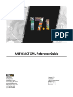 ACT XML Reference Guide