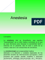 Curso Introductorio de Anestesia