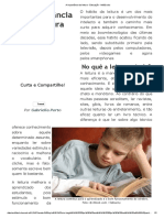 A Importância Da Leitura - Educação - InfoEscola Ok
