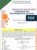 Fenómenos de Transporte-Seminario Transferencia de Masa