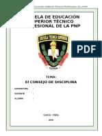 monografia de  El CONSEJO DE DISCIPLINA.docx
