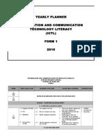Rancangan Tahunan 2015 ICTL Form 1