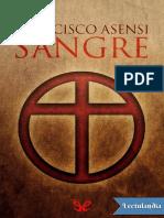 Sangre - Francisco Asensi