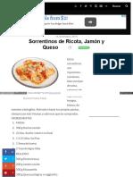 Www Minutoya Com 16-12-2015 Sorrentinos de Ricota Jamon y Qu