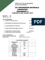 CEMB111 Lab 5 Group 4