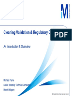Cleaning validation- Michael