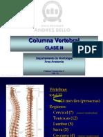 Clase Columna Vertebral