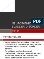 Neuropathic Bladder disorder.pptx