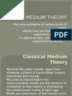 2 Medium Theory