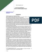 Alejandro Remeseiro - La Obra de Aristófanes - Historia de La Comédia Griega Antigua