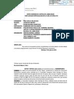 Resolución Número - Once - Exp. 2827-2014 - Gobierno Regional de Lambayeque