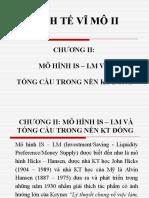 Chuong 2 - Mo Hinh is - LM Va Tong Cau Trong Nen KT Dong
