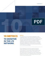 10 Matrices to Monitor in LTE Network