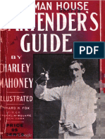 1912 Hoffman House Bartender's Guide by Charley Mahoney