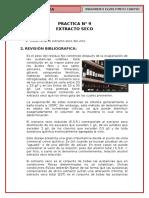 p9, Extracto Seco