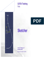 Sketcher IN CATIA V5