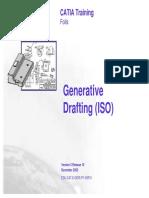 Generative Drafting IN CATIA V5
