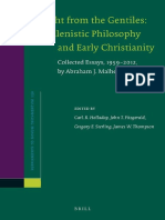 Hellenistic Philosophy and Early Christianity