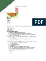 Chiken Tikka Recipe