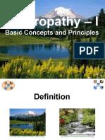 Naturopathy 01 Basic Concepts