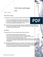 Rules of Thumb for Heat Exchanger Cost Comparisons