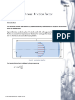 Effect of Roughness Friction Factor