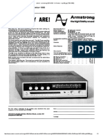 Advert - Armstrong 525 & 526 - Hi-fi News - Sep 69