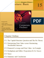 capital structure the basic concepts