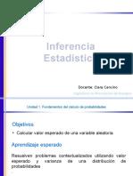 Inferencia Estadistica - Distribuciones Aleatorias