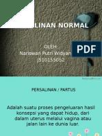 Persalinan Normal Naris