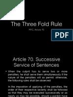 Three-Fold Rule PDF