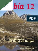 Revista Cubía - 12 (Monográfico Del Karst de Burgos)
