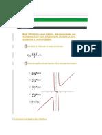 Ejercicios de Límites de Funciones